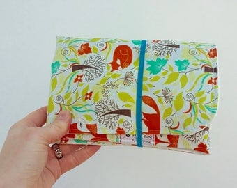 Limited edition Foxes travel changing mat