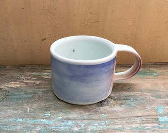 blue-and-white porcelain coffee cup #1