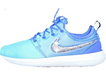 Women's Nike Roshe Two Breathe with SWAROVSKI® crystals - Swarovski Nike - Sparkle Nikes - Bling Nikes - Custom Shoes -Nike Swarovski -Bling