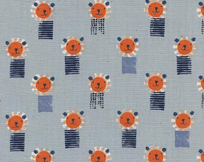 Pre-Sale- Lions in Blue -Sunshine -Alexia Abegg for Cotton + Steel