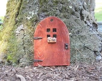 Fairy Door in Cedar Red