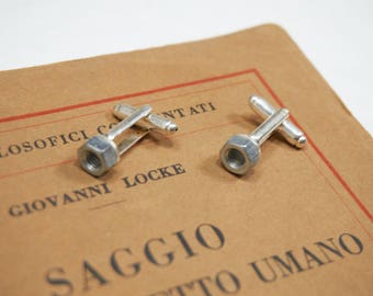 cufflinks with bolts