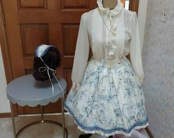 Gothic Elegant Lolita Skirt Set