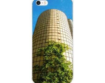 iPhone 5/5s/Se, 6/6s, 6/6s Plus Case - Red Silo Original Art - Silo Tree