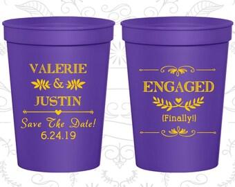 Violet Stadium Cups, Violet Cups, Violet Party Cups, Violet Wedding Cups (482)