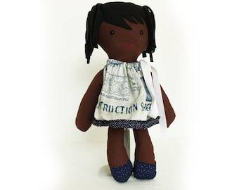Kids gift christmas-Bessie-engineer-kids gift-small doll