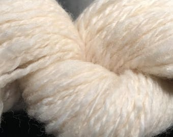 Snuggy- Hand Spun Alpaca, Merino Wool, 8-10 ply DK-Worsted