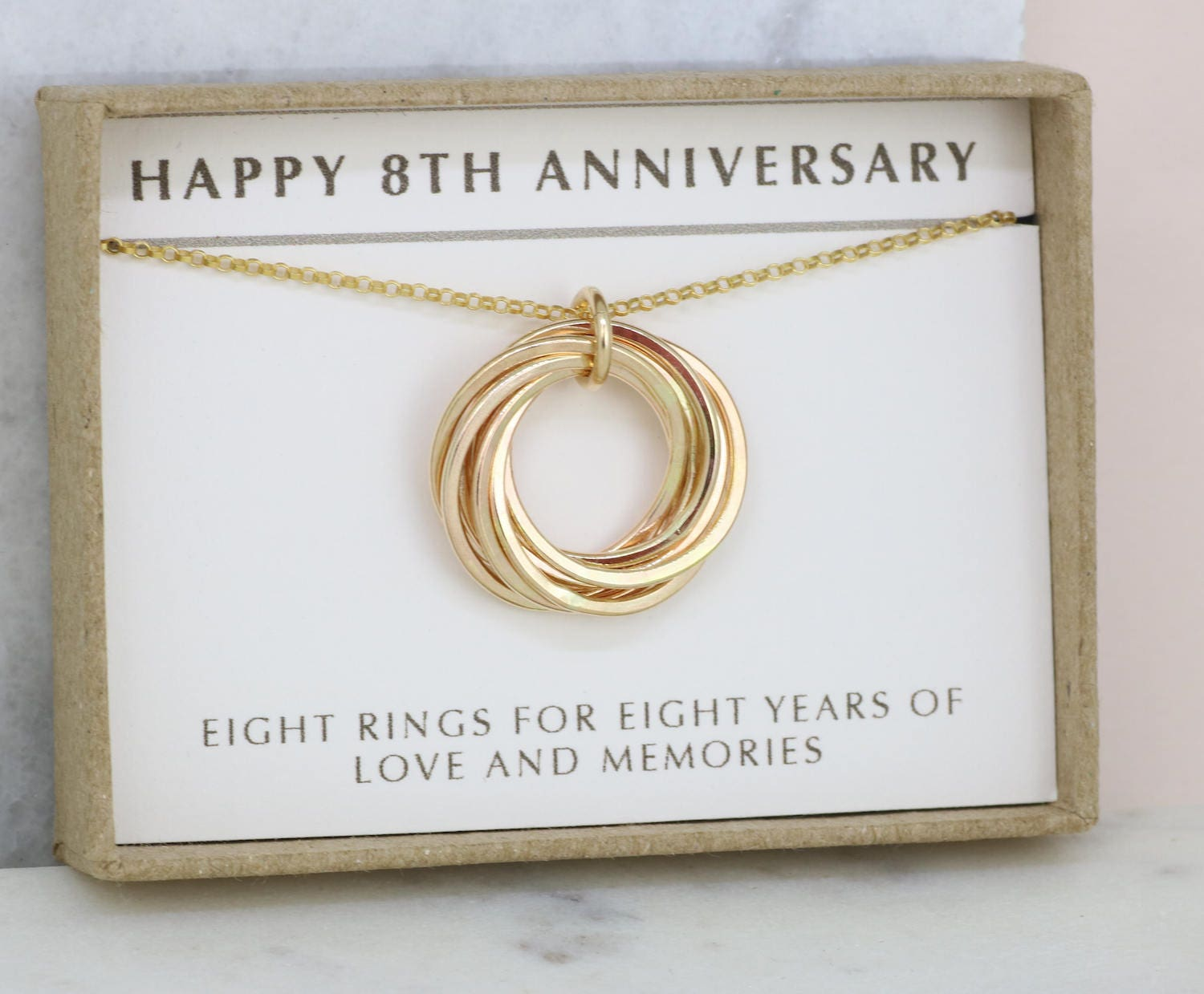 8th anniversary gift for wife 8 year anniversary necklace for With 8th wedding anniversary gifts for her