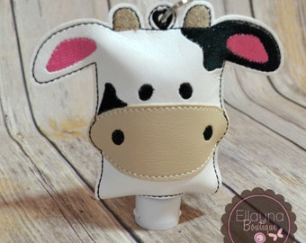 Hand Sanitizer Holder - Cow