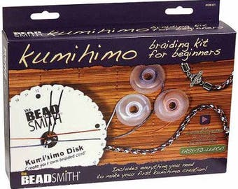 KUMIHIMO BRAIDING STARTER Kit for Beginners