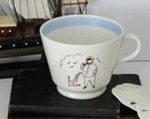 Sea Captain Mug, Captain Anchor Mug, Vintage Captains Mug, Coffee Mug, Sea Lovers Gift, Nautical Mug, Sailor Mug