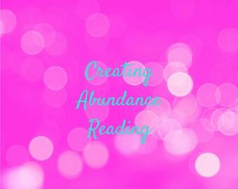 Creating Abundance Reading