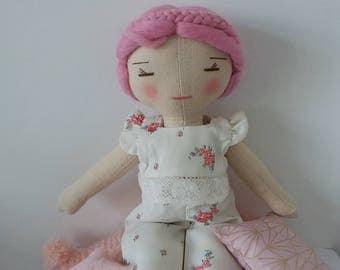 Cloth doll pyjama set.