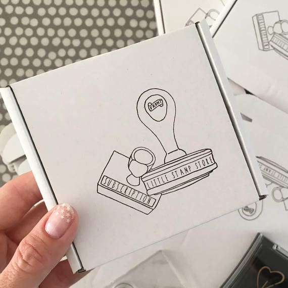 Subscription boxes - Rubber Stamp - Monthly Subscription Box - Subscription - Subscription box - Gift Box - Gift Subscription