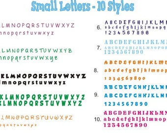 "2.5"" Single Custom Vinyl Letter, Number vinyl decal, sticker, name sticker, Custom made letters"