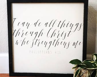 Philippians 4:13 sign