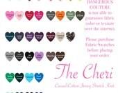 CHERI Fabric Swatch, handmade ROCKABILLY Swing Dress, Pin Up Top or Retro Headband handmade by Hardley Dangerous Couture