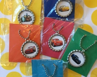Cars 3 Party Favor 10 quantity Necklace Birthday Party Favors Cars 3 Birthday Party Cars 3 Movie Party Birthday Favors Girls Party Favor
