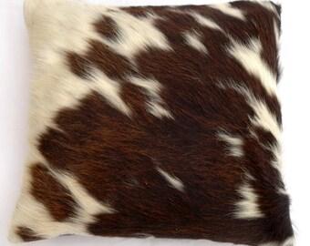 Natural Cowhide Luxurious Hair On Cushion/ Pillow Cover (15''x 15'') A116