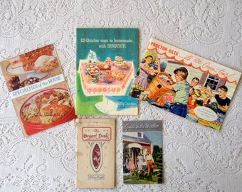 Vintage Pamphlet Collection-Set of Five