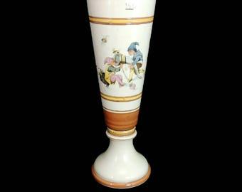 1902 Mettlach Stoneware Beer Pilsner Gnomes Elves H. Schlitt Style