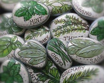Custom Herb Garden Markers Set Of 4