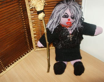 Witch doll Halloween 40 cm high