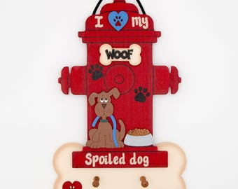 Personalized Dog Fire Hydrant