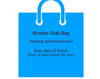 Mystery Grab Bag, multi soap bars and lotion, surprise, clearance items, sale items, imperfects, samples, scratch dent
