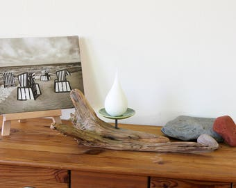 Candle Holder Driftwood Ceramics No. 1