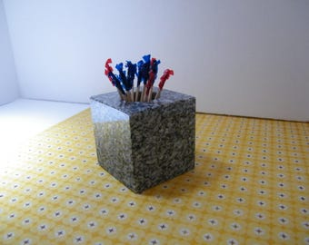 Toothpick Holder, Granite Toothpick Holder,Stone Toothpick Holder