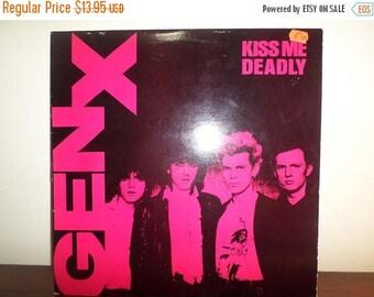 Save 30% Today Vintage 1981 Vinyl LP Record Kiss Me Deadly Gen X Canadian Pressing Excellent Condition 11206