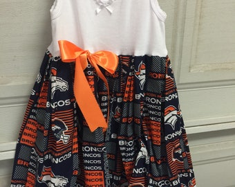 A beautiful Denver Broncos dress