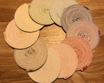 Rope Coaster Set-Pick Your Colors!
