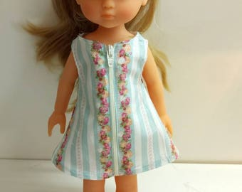 Corolle doll pinafore dress girls or 33cm doll handmade