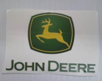 6u0027u0027 X 8u0027u0027 John Deere Sticker Part 93