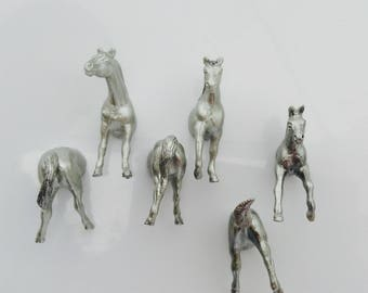 Horse Magnet place card holder and wedding favour bag included with each animal X 10