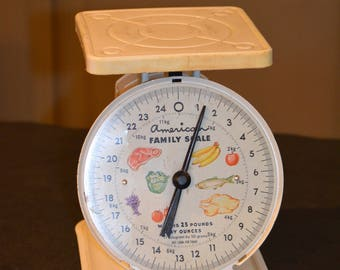 Vintage Kitchen Scale, American Family Scale
