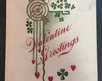 Early 1900's 1 Cent Unused Valentines Day Postcard