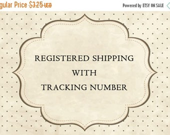20% OFF Registered Shipping With Tracking Number.
