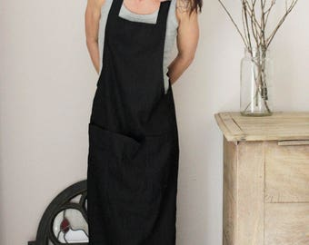 Linen dress, Easy wear, XS-S size, Eco friendly linen, Maternity wear