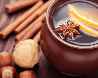 Mulled Cider and Chestnuts Holiday Scent Home Fragrance Oils Uncut .5(1/2)oz