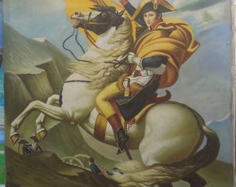 "Napoleon Bonaparte painting oil painting on canvas 48""X80"""
