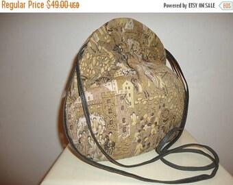 50% OFF Must See Vintage Silk Tapestry Shoulder Bag