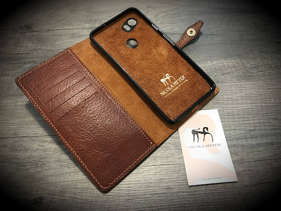New Google Pixel 2 & Pixel 2 XL and Pixel rev 1 Leather Case Flip Wallet Bifold Style CHOOSE Device and Color