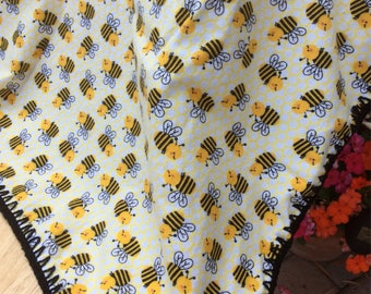 The Bee Baby Blanket