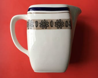 "Vintage Gefle Sweden ceramic jug named ""Orion "", 1970s, Made in Sweden"