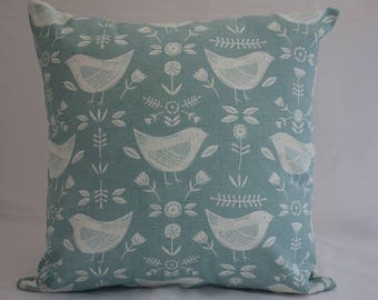 Pillow - Bird design feature cushion, complete with cushion pad, zip fastening