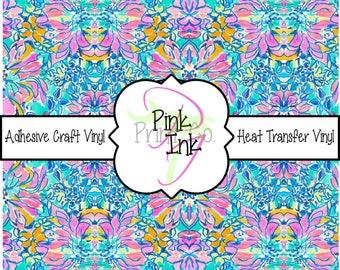 Beautiful Patterned Craft Vinyl and Heat Transfer Vinyl Pattern 715