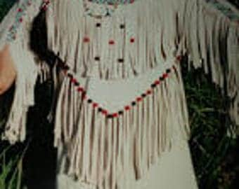 Indian Maiden Clothing Pattern, BS-366